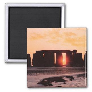 Stonehenge vinterSolstice Magnet