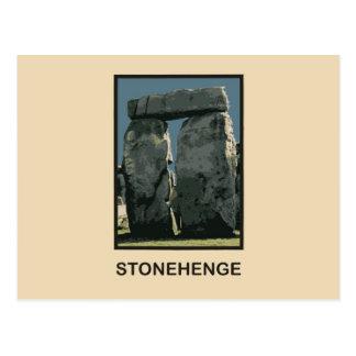 Stonehenge Wiltshire län UK Vykort