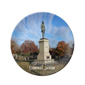 Stonewall Jackson monument - foto Porslinstallrik