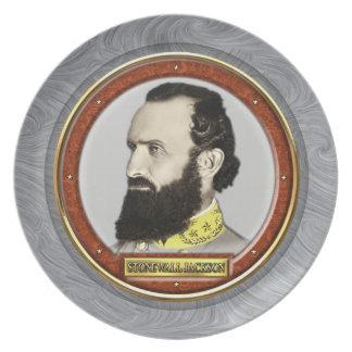 Stonewall Jackson Tallrik