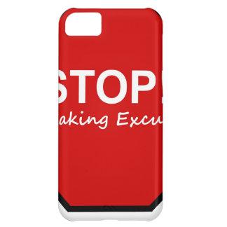 Stopp!! Danandeursäkter iPhone 5C Fodral