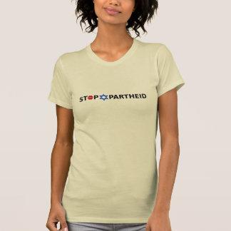 Stoppa apartheid på den ljusa tshirten tröja