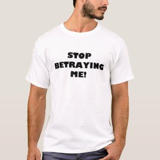 Stoppa att förråda mig! tröja