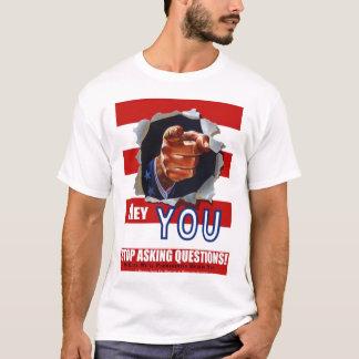 Stoppa att fråga ifrågasätter! tshirts