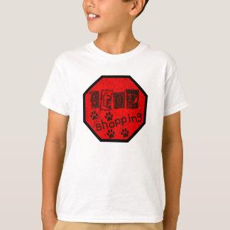 Stoppa att shoppa, gå adoption t-shirt