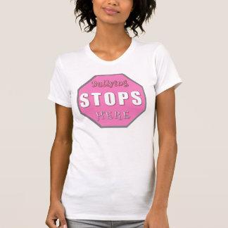 Stoppa att trakassera t-shirt