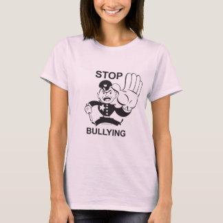 Stoppa att trakassera utslagsplatsskjortan tee