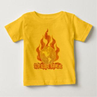 Stoppa den begynna T-tröja för global värme Tee Shirt