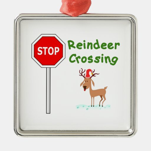 STOPPA för Santas ren! Jul Dekorationer