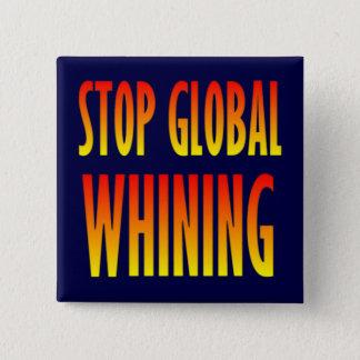 Stoppa globalt gnälla standard kanpp fyrkantig 5.1 cm