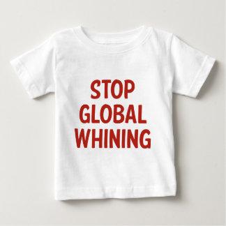 Stoppa globalt gnälla t shirts
