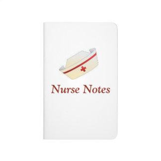 Stoppa i fickan journalen för sjuksköterskor med anteckningsbok