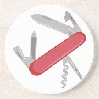 Stoppa i fickan knivar underlägg sandsten
