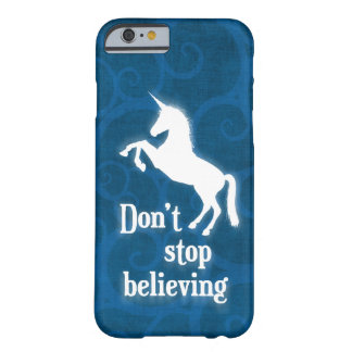"""Stoppa inte att tro"" unicorn Barely There iPhone 6 Fodral"