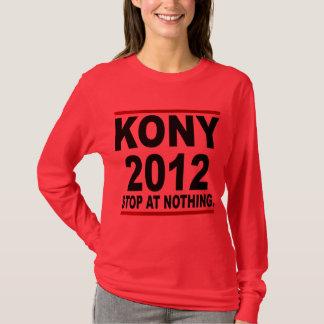 Stoppa Joseph Kony 2012, stopp på ingenting som är T Shirts