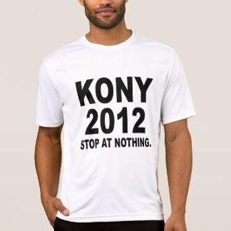 Stoppa Joseph Kony 2012, stopp på ingenting som är T-shirt