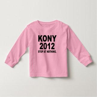 Stoppa Joseph Kony 2012, stopp på ingenting som är Tee Shirt