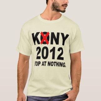 Stoppa Joseph Kony 2012, stopp på ingenting som är Tee Shirts