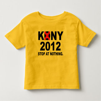 Stoppa Joseph Kony 2012, stopp på ingenting som är Tröjor