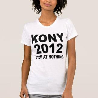 Stoppa Joseph Kony 2012, stopp på ingenting som är T-shirts