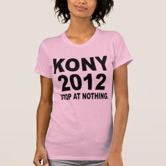Stoppa Joseph Kony 2012, stopp på ingenting som är Tee