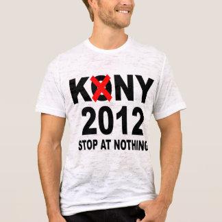 Stoppa Joseph Kony 2012, stopp på ingenting som är Tshirts