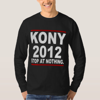 Stoppa Joseph Kony 2012, stopp på ingenting, T-shirts
