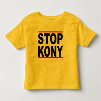 Stoppa Joseph Kony 2012, stopp på ingenting, T Shirts