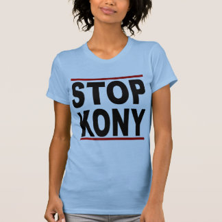 Stoppa Joseph Kony 2012, stopp på ingenting, Tshirts