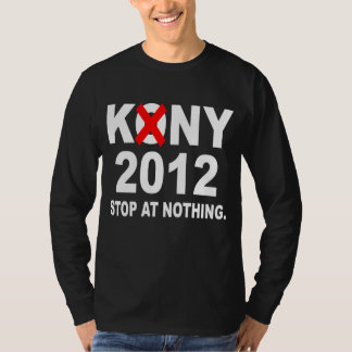Stoppa Kony 2012, stoppet på ingenting, politiska Tröjor