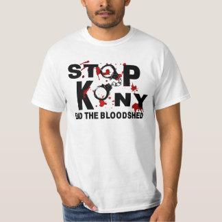 Stoppa Kony. Avsluta bloodshed.en T-shirts