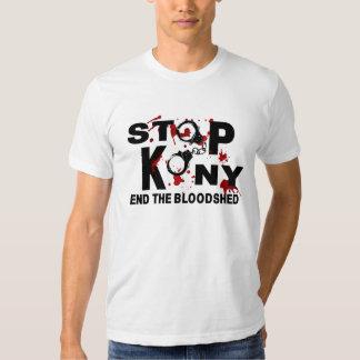 Stoppa Kony. Avsluta bloodshed.en Tee