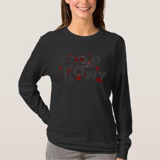 Stoppa Kony blod Splatters & handbojor Tshirts