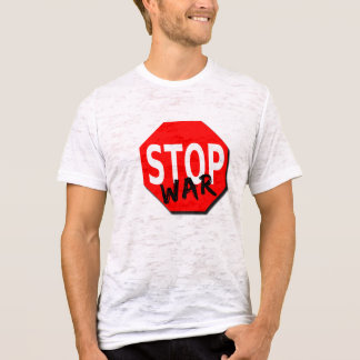 Stoppa krigmanar t-skjorta tshirts