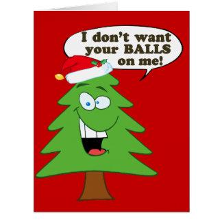 Stoppa missbruk av julgranar jumbo kort
