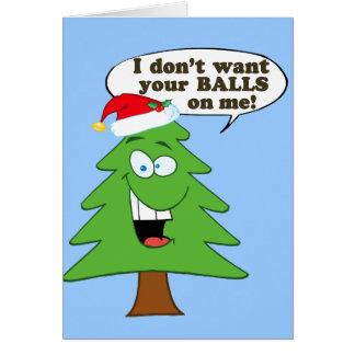 Stoppa missbruk av julgranar hälsningskort