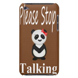 Stoppa samtal Pandabjörnen iPod Touch Hud