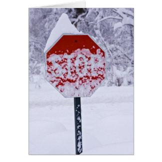 Stoppa Snowing! Hälsningskort