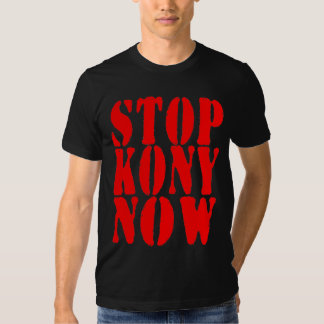 STOPPA T-tröja för KONY NU Tee Shirts