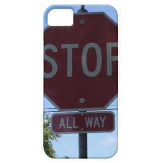 Stoppa undertecknar iphone case iPhone 5 skydd