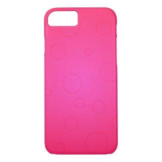 Stoppar den ljusa iPhonen för shock rosapopkonst 7