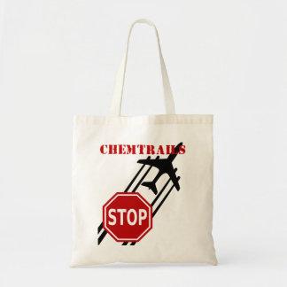 Stoppet Chemtrails hänger lös Tygkasse