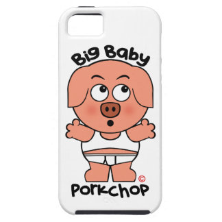 Stor baby Porkchop för gullig gris iPhone 5 Case-Mate Cases