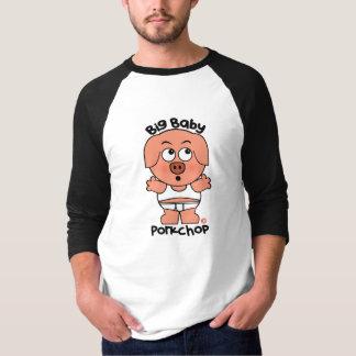 Stor baby Porkchop för gullig gris Tee Shirts