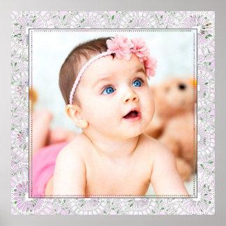 Stor babyfotoaffisch poster