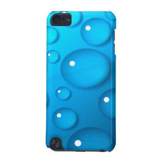 Stor blått tappar av vatten iPod touch 5G fodral