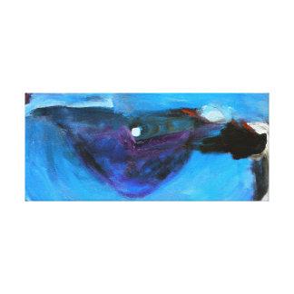 Stor blåttögonglob canvastryck