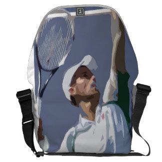 Stor budbärare för tenniskärlek messenger bag
