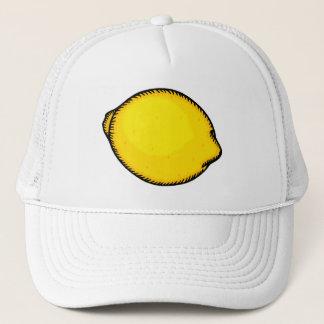 Stor citron truckerkeps