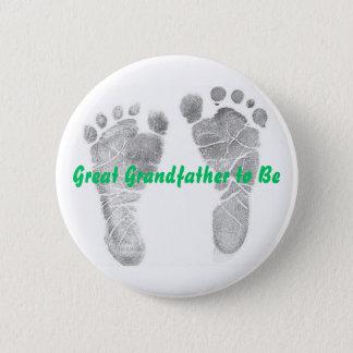 Stor- farfar som är standard knapp rund 5.7 cm